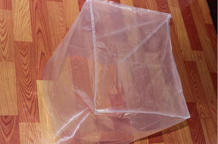 PE透明四方袋