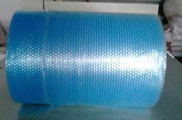 蓝色气泡膜